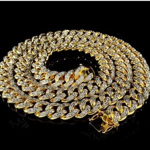 Other - ICED OUT Miami Cuban 18K Men's Chain